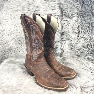 ARIAT Legend Rowdy Leather Pull On Cowboy Boats